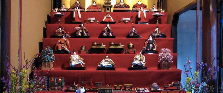 Fête des poupées (Hina Matsuri) au Japon