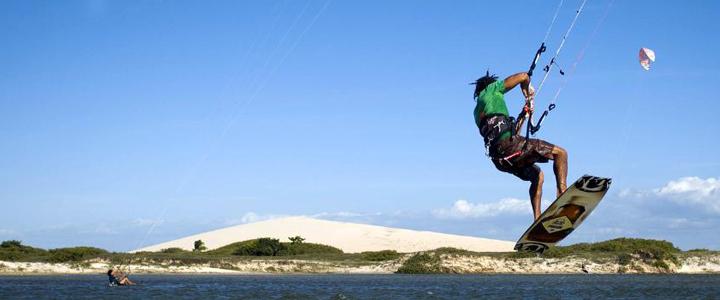 Surfing in Jeri