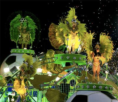 char au sambodrome carnaval de rio