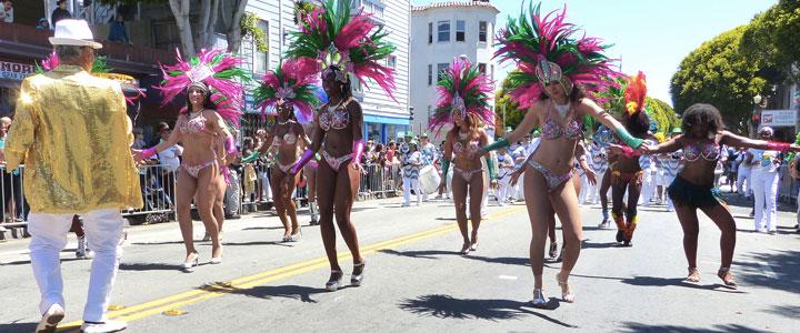 défilé des écoles de samba carnaval de rio