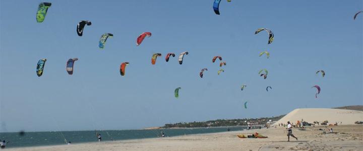 Brésil : Jeri, terre du kitesurf