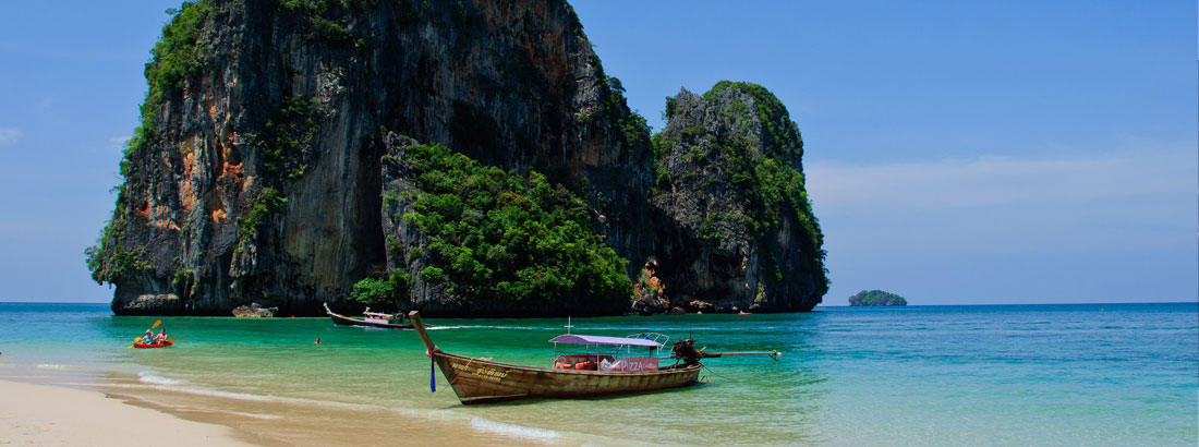 Plages paradisiaques en Thailande