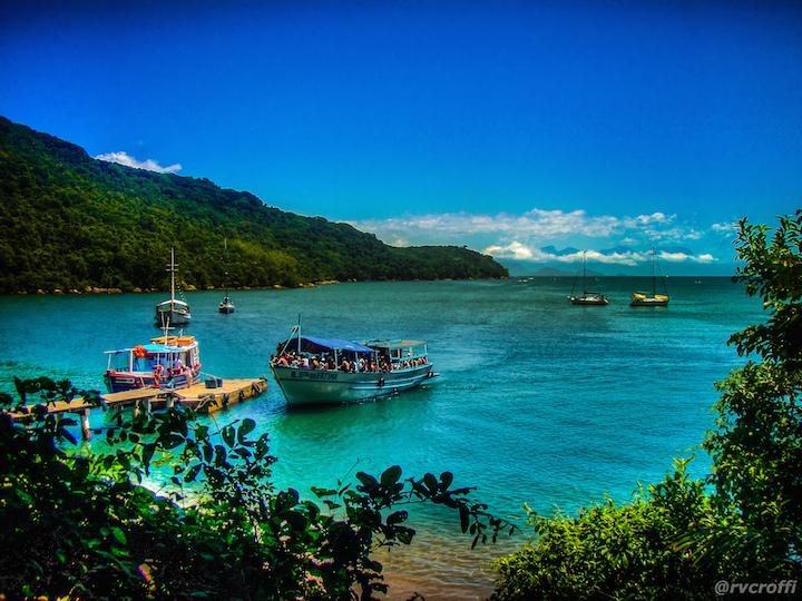 île de la costa verde du brésil