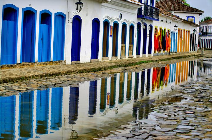 paraty village coloniale près de Rio