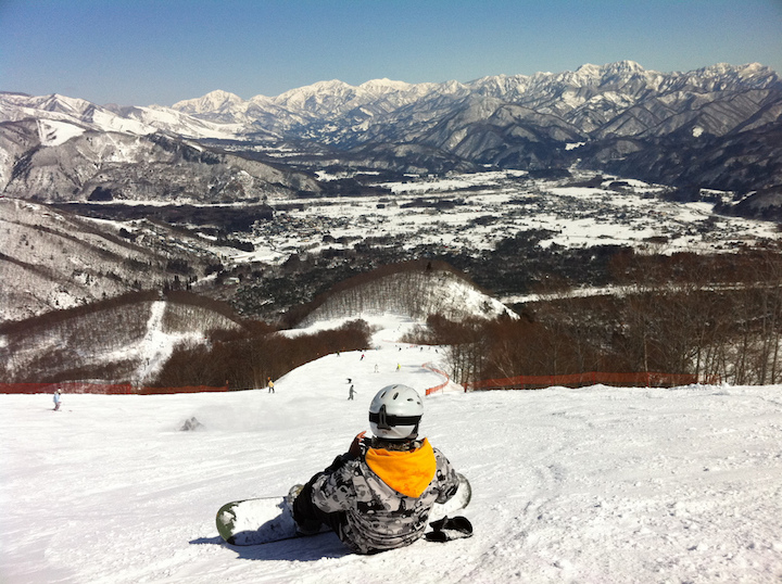 station ski Hakuba-mura alpes japonaises