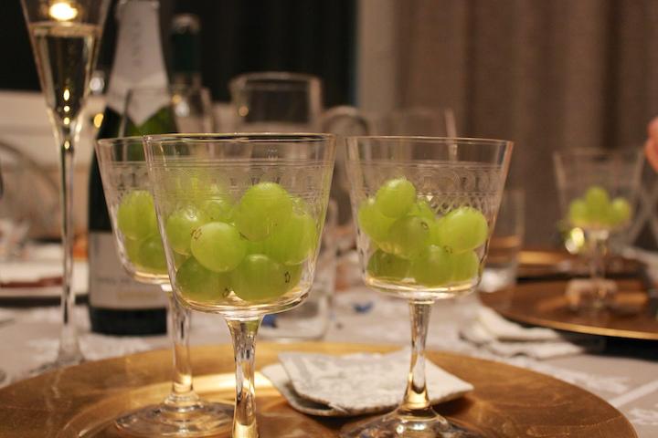 tradition des 12 raisiins de minuit amérique latine
