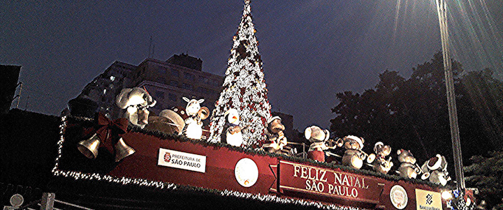 décorations de noel au brésil sao paulo