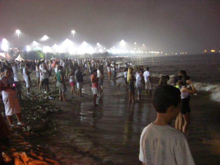nouvel an plage rio