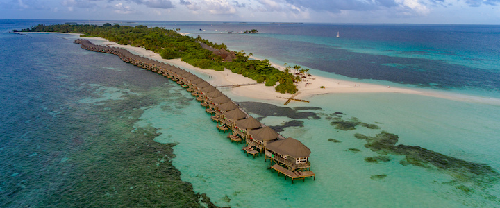 pilotis aux Maldives