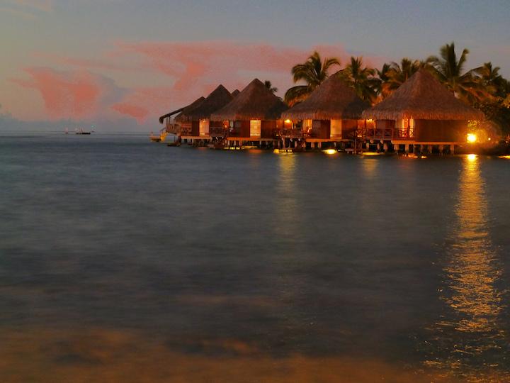 bungalow sur pilotis Tahiti