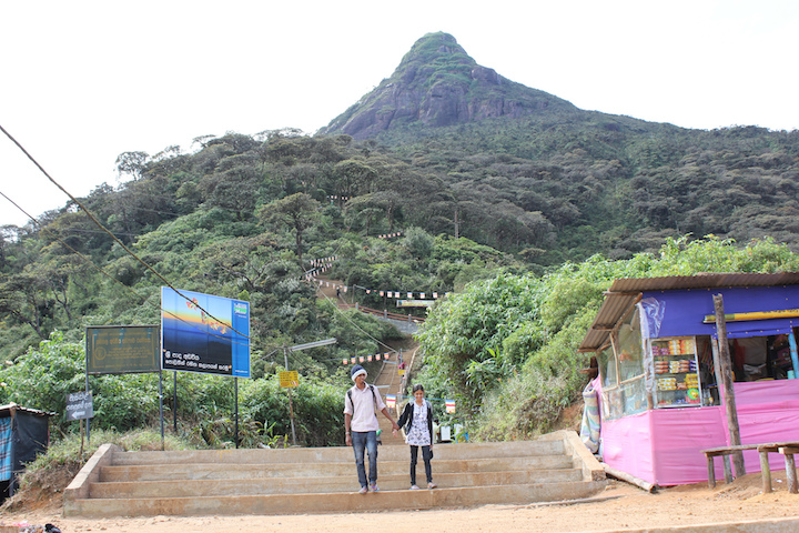 Adam's Peak montagne Sri Lanka
