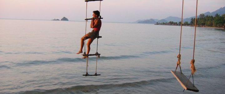 balançoires île thailande
