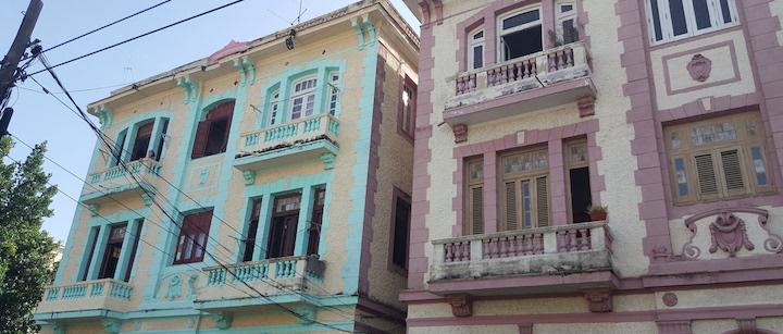 immeubles coloniaux la havane cuba