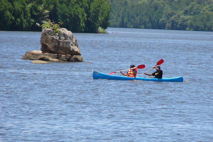 kayak rivière Bentota Sri Lanka