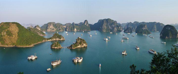 Voyage au Vietnam : de la baie d'Halong au delta du Mékong