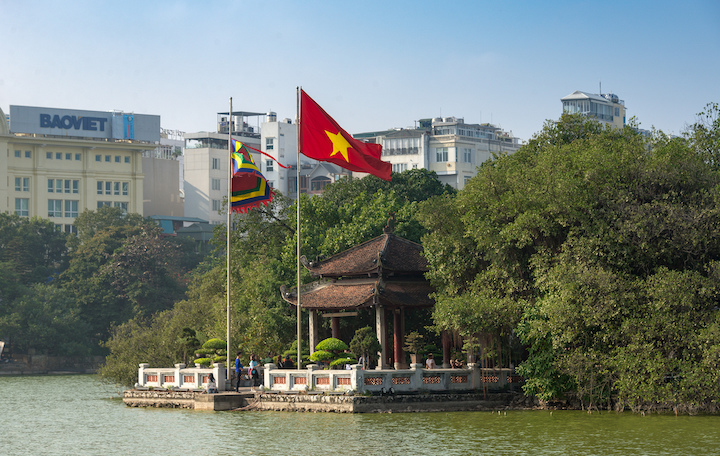 pagode building hanoi