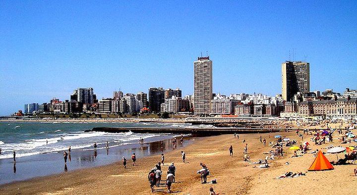 plage Mar del Plata buenos aires