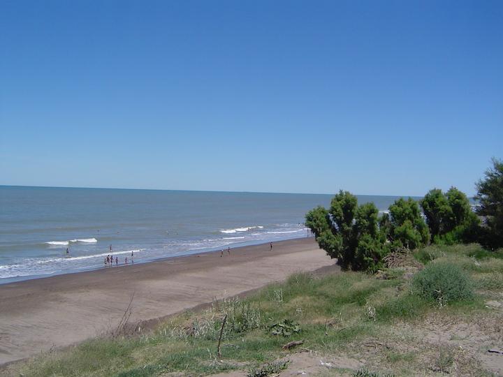 plage argentine Pehuen Co