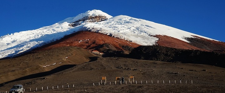 volcan cotopaxi ecuateur