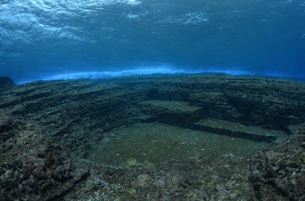 Yonaguni ruines sous marines