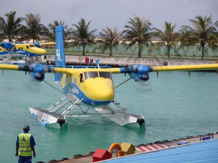 hydravion maldives