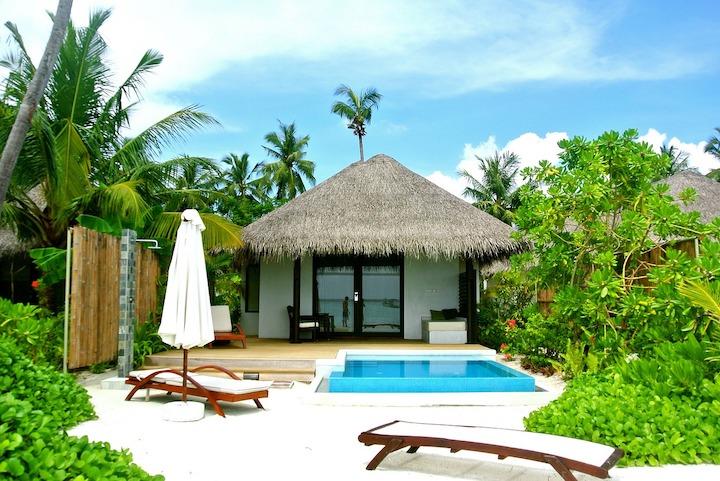 villa hotel maldives