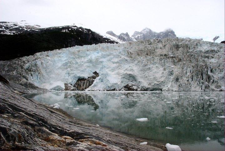 glacier pia patagonie