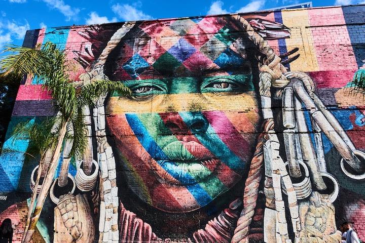 fresque JO rio street art