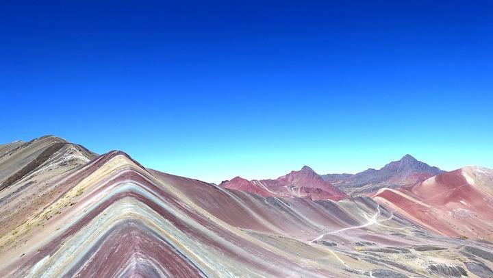 montagne au sept couleurs