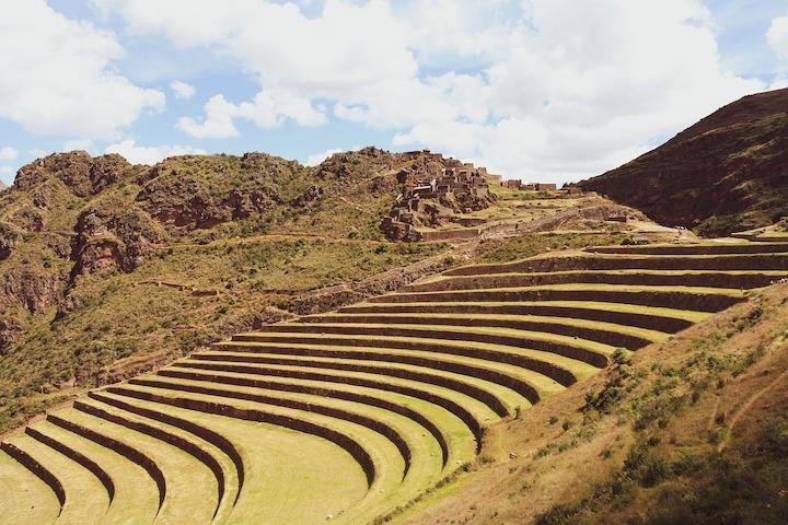 pisac site inca