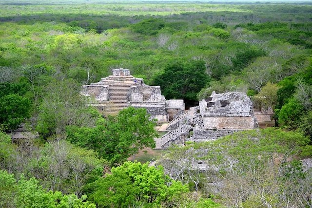 pyramides mayas Ek-Balam