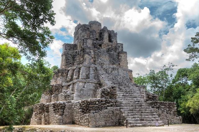 pyramides mayas muyil