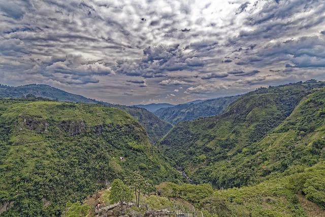 huila collines colombie