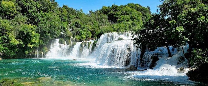 cascade du parc de Krka